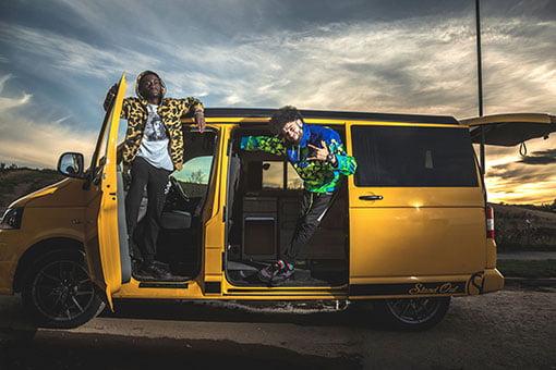 UK Rapper uses Local Based Camper Van for BBC TV Show