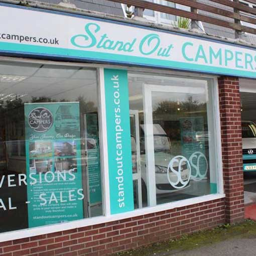 Standout Campers Showroom