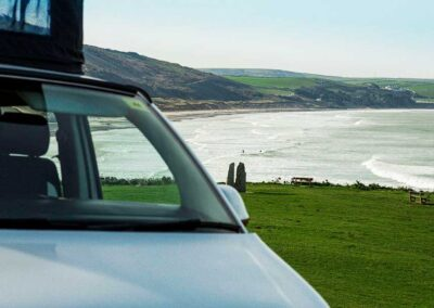 VW Campervan window shot