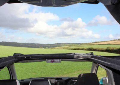 VWCampervan Through Open Roof