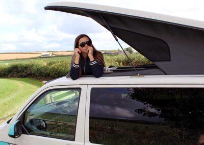 VWCampervan Open Roof