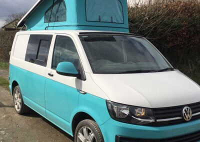 Aqua Campercan with Roof