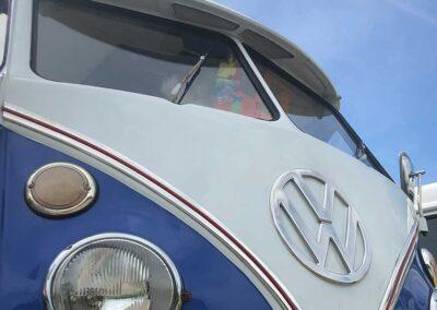 Blue Traditional Campervan